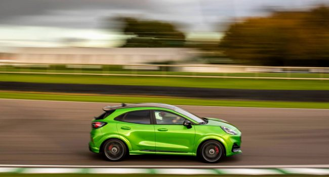 Ford Puma ST em GoodWood SpeedWeek 2020