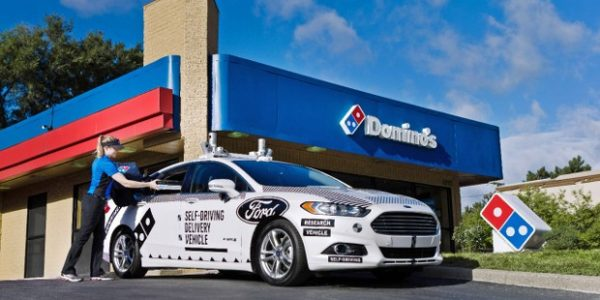 Ford Autonomous Car - Dominos Pizza